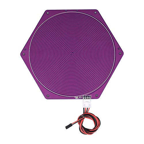 ExcLent 12V 120W 170Mm Diameter Purple Hexagon Round Kossel Delta Heated Bed for 3D Printer