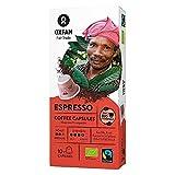 CAFÉ ARABICA / ROBUSTA ESPRESSO FAIR TRADE BIO 10 CÁPSULAS PARA NESPRESSO - OXFAM