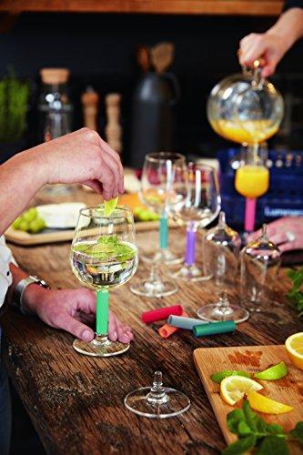 Luminarc 15837 Lumikit - Juego de copas de vino y champán (cristal), multicolor