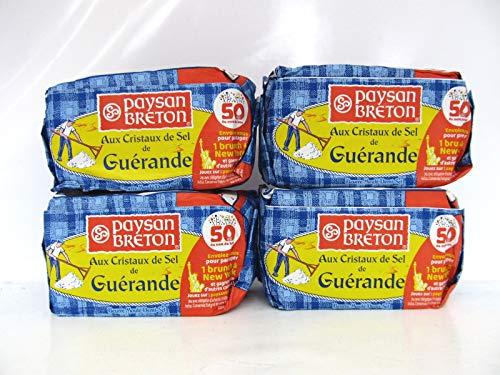 Butter Paysan Breton Aux Cristaux de Sel de Guerande 4x250g