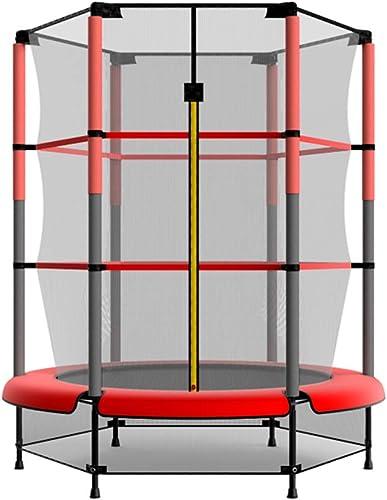 Venta en línea precio bajo descuento Trampolín de 53 Pulgadas con una Almohadilla Almohadilla Almohadilla de Seguridad Carga máxima de 150 kg, Trainer portátil Cardio Workout Fitness  perfecto