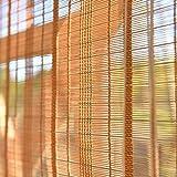 Tende a rullo in bambù per esterni Interno/Esterno, Esterno Patio Gazebo Veranda Tettoie ...