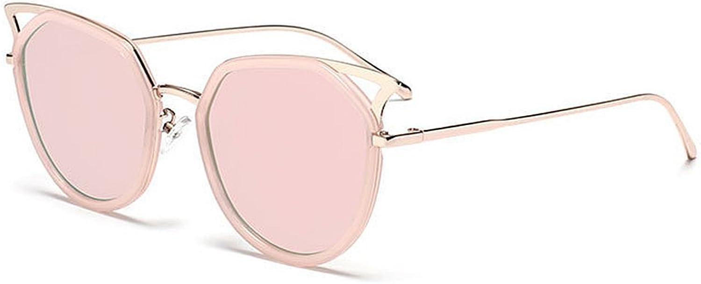 Full Flower Frame Cat Eyes Sunglasses UV Predection for Outdoor Driving Travelling Summer Beach (color   C4)