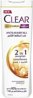 Clear Women's Anti-Dandruff Shampoo Anti-Hair Fall, 400ml