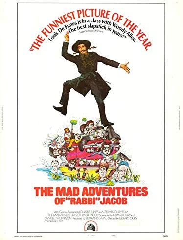 Mad Adventures Of Rabbi Max 75% OFF Jacob Rolled Original New York Mall - 30x40 Authentic