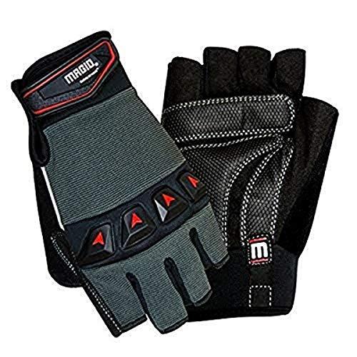 Magid Glove & Safety Fingerless Work Gloves, 8/M (3 Pair)