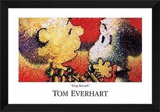 "Tom Everhart Framed Art Print 40x28 ""Dog Breath"""