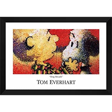 Tom Everhart Framed Art Print 40x28  Dog Breath