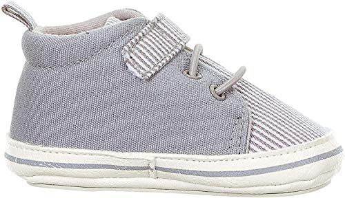 Sterntaler Jungen Baby-Schuh Stiefel, Grau (Rauchgrau 566), 17/18 EU