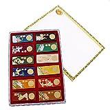 1 Caja (12Pieces) Barra de Tinta Asia 7 colores Tallados Zodiaco China...