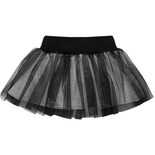 Pinokio -Happy Day - meisjes baby rok 100% katoen, grijs of zwart - rokje voor meisjes, originele uitrusting, tule skirt
