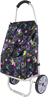 LQBDJPYS Lightweight Supermarket Shopping Trolleys Casual Folding Large Capacity Wearable Luggage Carts Folding Luggage Ba...