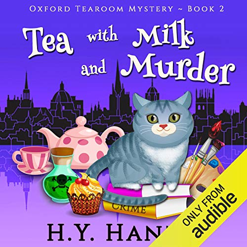 Tea with Milk and Murder audiobook cover art