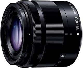 Panasonic Lumix G Vario 35-100 mm f4.0-f5.6 ASPH. MEGA OIS Zoom SLR Telephoto SLR Black Camera Lenses and Filters, Telephoto Zoom Lens Micro Four Thirds; 4 – 5.6, 0.90 m, 12/9