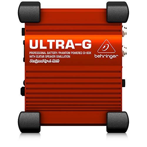 Behringer GI100 - Accesorios para guitarra, Negro/Rojo