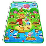 Skylofts Waterproof Double Side Baby Play Crawl Floor Mat for Kids Picnic School