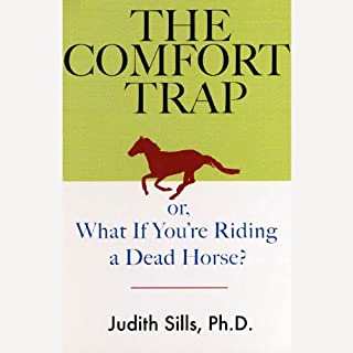 The Comfort Trap audiobook cover art