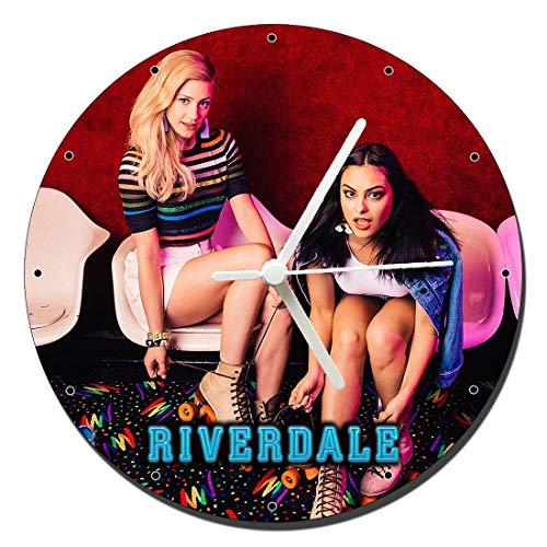 MasTazas Riverdale Lili Reinhart Camila Mendes Wanduhren Wall Clock 20cm