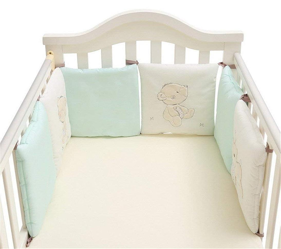 どこにでも欺く中止しますFYYONG ベビーサークル 安全プレイヤード ベビー寝具寝具フリーコンビネーションコットンベッドベッドガードレール 育児 堅固さ 耐久性 超柔らかい 通気性