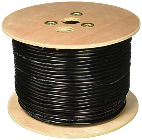 500FT Outdoor UV Protection Rated Professional Speaker Audio Cable 14AWG Direct Burial 14/2 Bulk Spool (500FT, 14/2)