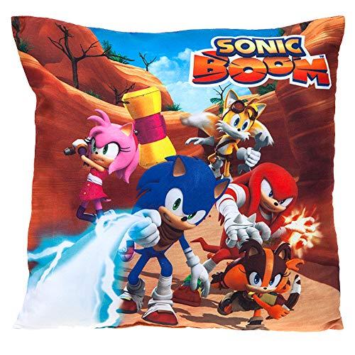 Sonic The Hedgehog 302101 Plüsch, weich, Spielzeug, Mehrfarbig