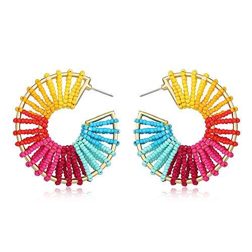 (75% OFF) Geometric Beaded Earrings $3.25 – Coupon Code