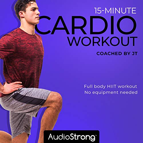 15-Minute Cardio Workout audiobook cover art