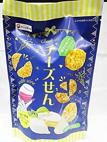 日の出屋製菓 チーズせん 個包装15枚入り(超!濃厚カマンベールチーズ味) (1袋)