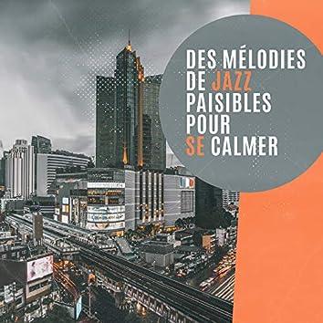 Des mélodies de jazz paisibles pour se calmer