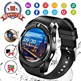 Smartwatch Android,Bluetooth Smart Watch Telefono con SIM Card Slot e Fotocamera,Orologio Fitness...