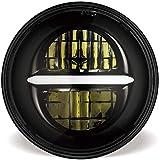 5-3/4 5,75 pulgadas LED Faro para Harley Davidson Moto LED Proyector luz de conducción con DRL (negro)