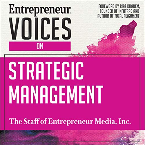 Entrepreneur Voices on Strategic Management audiobook cover art
