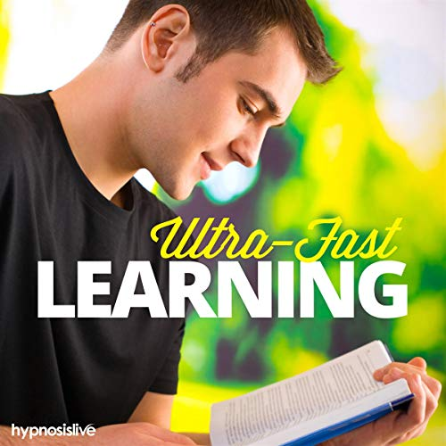 Ultra-Fast Learning Hypnosis audiobook cover art