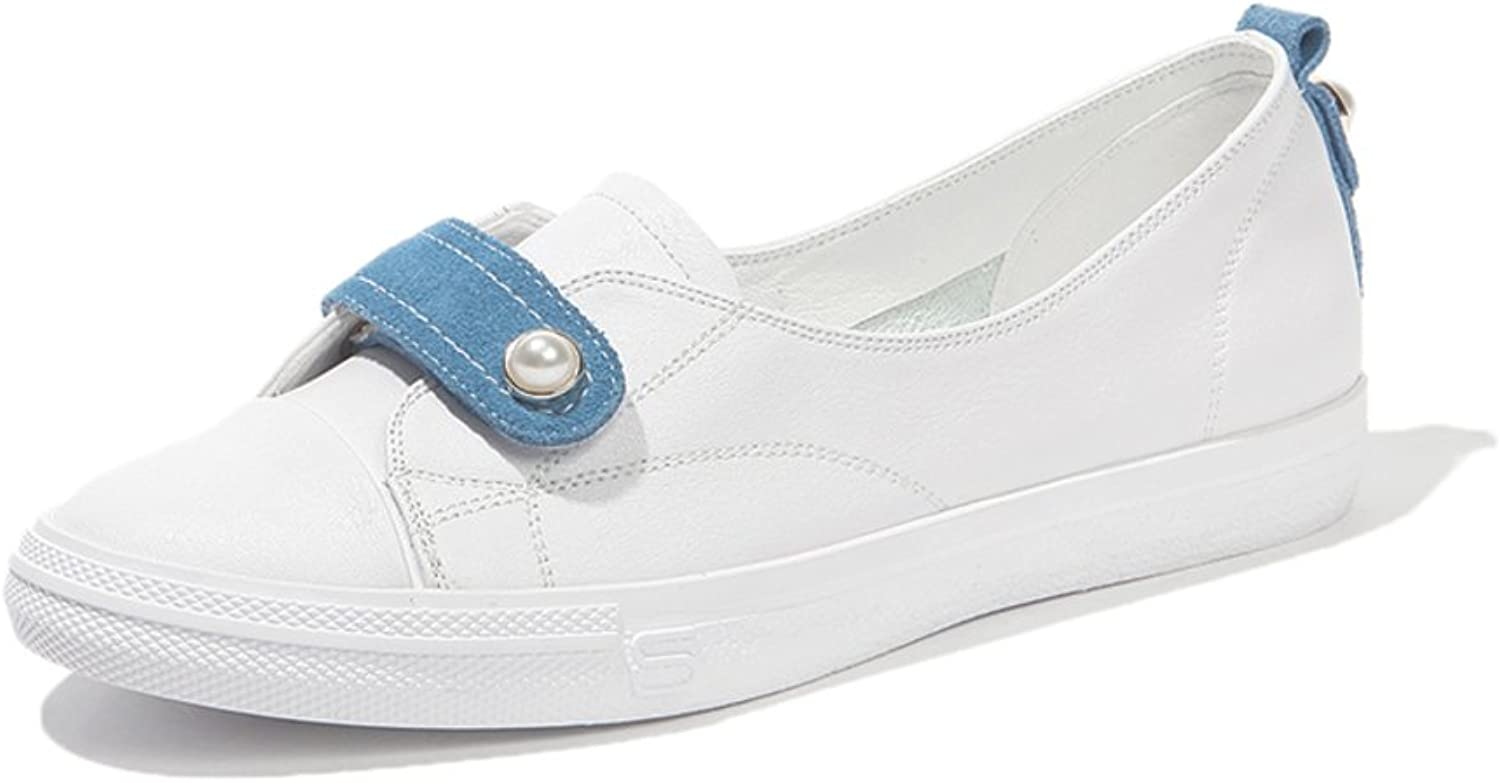 MET RXL Thick-Soled,Small White shoes Lady,Summer,Flat,Nude shoes