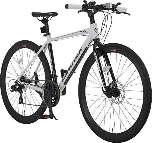 カノーバー クロスバイク 自転車 21段変速 ディスクブレーキ CAC-027-DC ATHENA B01MYB5I2J 1枚目
