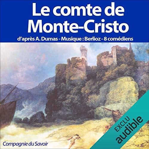 Le comte de Monte-Cristo audiobook cover art
