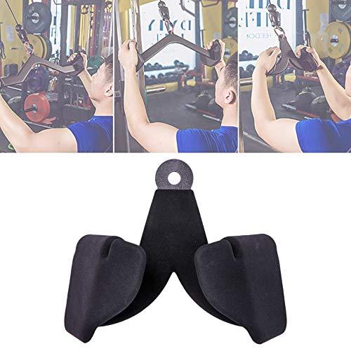 Eortzzpc Máquina De Remo Manijas, Tirar hacia Abajo Manillar Multi Gimnasio, Mango De Remo Paralelo En V para Mejorar Su Tríceps, La Espalda Y Los Músculos del Hombro (Size : A)