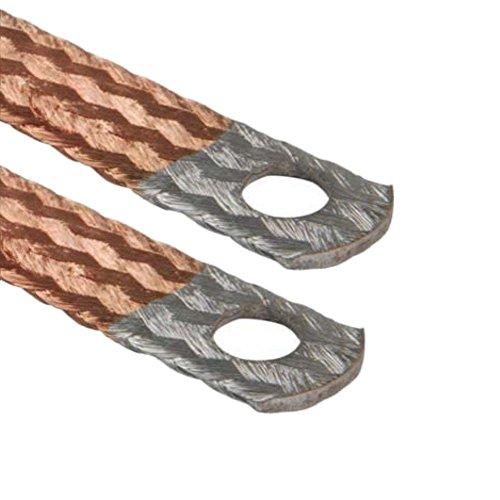 AUPROTEC® Motor Masa Banda Extremos galvanizados Cable de Tierra 16mm²–70mm²