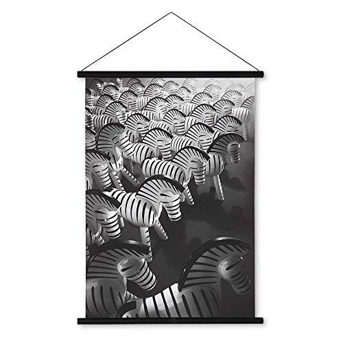 Kay Bojesen Bild, Holz, Mehrfarbig, 40 x 40 cm