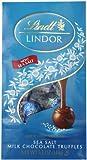 Lindt LINDOR Sea Salt Milk Chocolate Truffles, 5.1 Ounce, Pack of 12