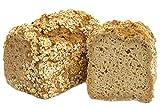 Bio Haferbrot aus glutenfreien Haferflocken 500 g Vollkornbrot vegan reich an Beta Glucan (frisch)