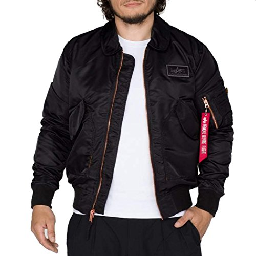 ALPHA INDUSTRIES CWU 45 Bomberjacke schwarz XL