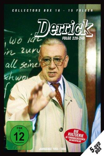 Derrick - Collector's Box Vol. 16 (Folge 226-240) [5 DVDs]