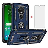 Phone Case for Motorola Moto G7 Plus MotoG7 with Tempered