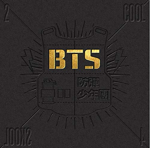 BTS Kpop Bangtanboys Single Album [2 Cool 4 Skool] CD + Photobook