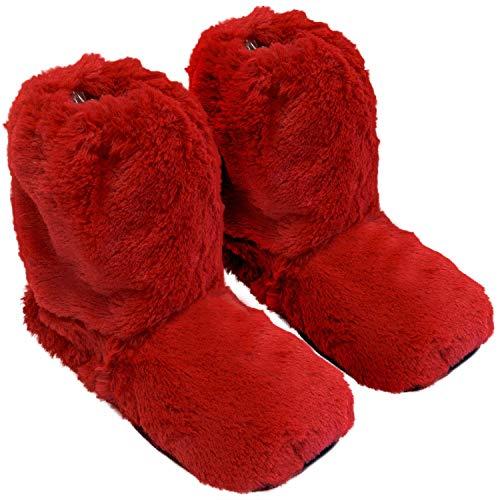 Thermo Sox - Zapatillas térmicas, calentables en microondas en el Horno