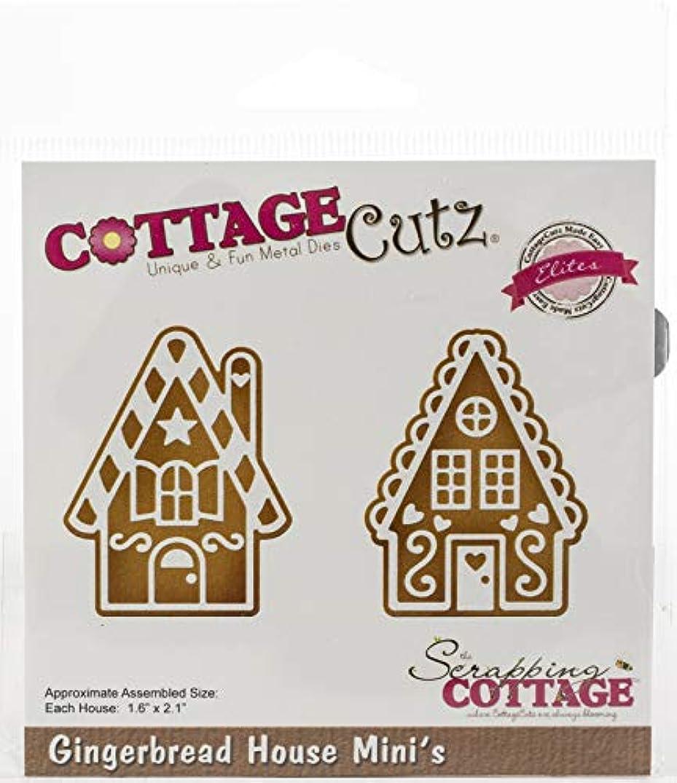 CottageCutz CCE514 Elites Die-Gingerbread House Minis 1.6