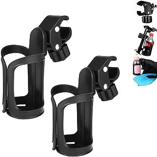 con 2 Ganchos la Actualizaci/ón de Tercera Generaci/ón Sillas de Ruedas y Bicicletas Portavasos Carrito Bebe Ajustable Universal Sujeta Vasos para Cochecitos