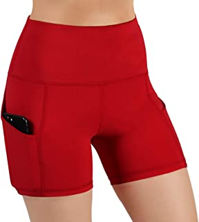 Best red yoga shorts Reviews