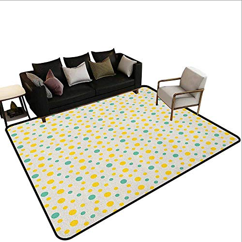 Grote tapijt Geometrische, Driehoek Dimensie Fractal Figuren Moderne Stijl Mozaïek Zeshoek Grafisch, Reseda Groen Robijn Rood